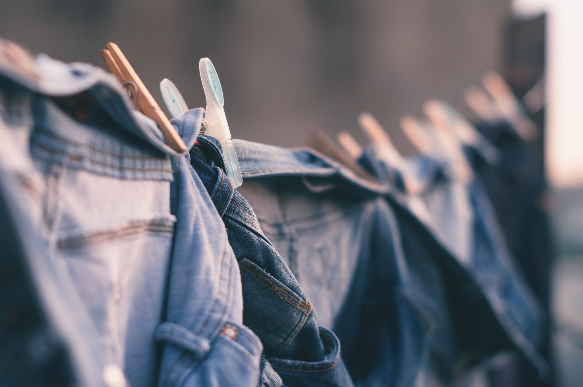 Line drying is better for the planet and for your clothing