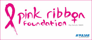 PULSAR® proud to support Pink Ribbon Foundation