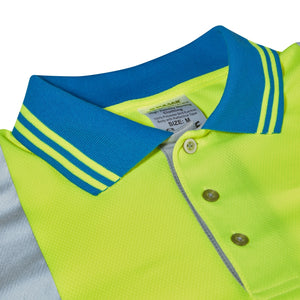 P458-CRS Cut Reinforced Sleeve Polo Shirt