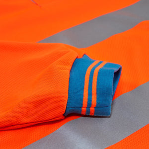 PR470-CRS Rail Spec Cut Resistant Sleeve Polo Shirt