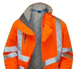 PR502 PULSAR® Rail Spec Padded Storm Coat