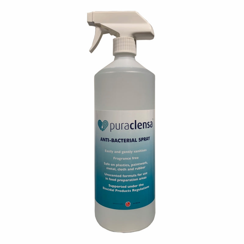 T1877 PURCACLENSA Anti-Bacterial & Anti-Viral Spray