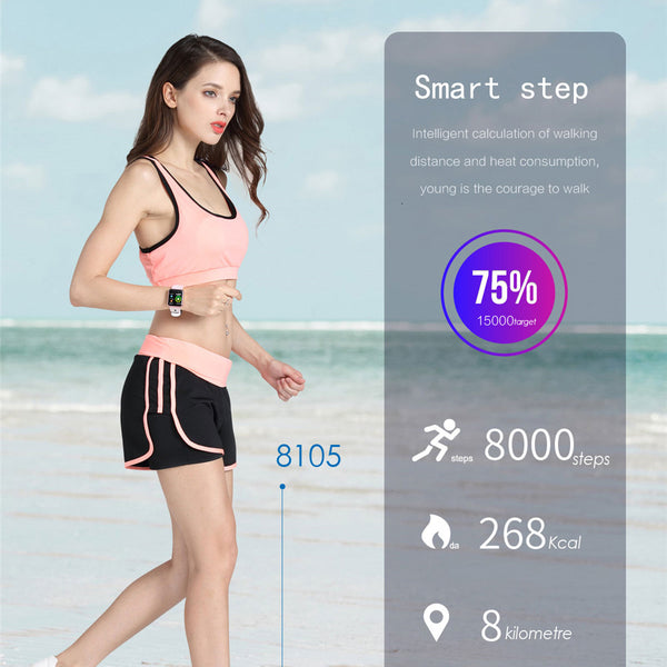 OPTA SB-093 Bluetooth Fitness Band Smart Watch for Android, iOS Devices