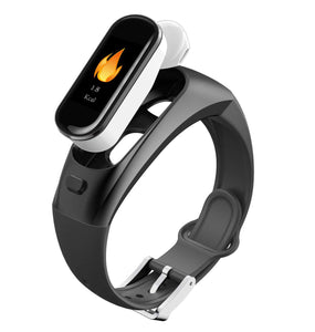 OPTA SB-143 2-in-1 Bluetooth Headset and Fitness Band