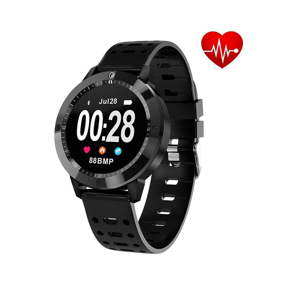 OPTA SB-056 GARNET Smart Watch Blood Pressure Heart Rate Monitor HD Display Bluetooth Unisex Fitness Smartband for Android and IOS Smartphones
