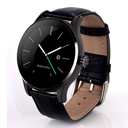 OPTA SB-038 Bluetooth Heart Rate + Smart Watch + All-in-One Activity Tracker + Sleep Monitor compatible with Android / IOS Smart phones for Men Women Teens