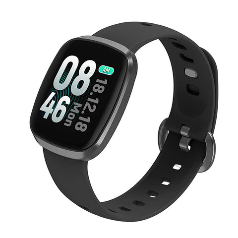 OPTA SB-125 Bluetooth Wearable Technology TFT Color Display Heart Rate Fitness Band+ All-in-One Activity Tracker & Health Monitoring Smart Watch Compatible with Android/iOS (Black)