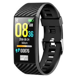 OPTA SB-124 Massalia Bluetooth ECG PPG Fitness Watch| Blood Pressure Multi-Sport Mode| Heart Rate | Waterproof |1.14 inch Color Screen Fitness Tracker for All Android/iOS