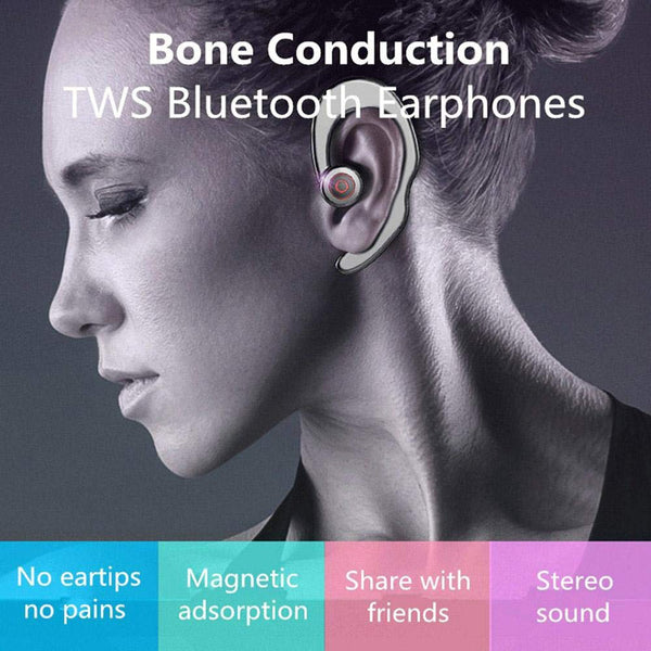 OPTA-BH014 Painless Bluetooth Single Earhook Wireless Stereo Earphone