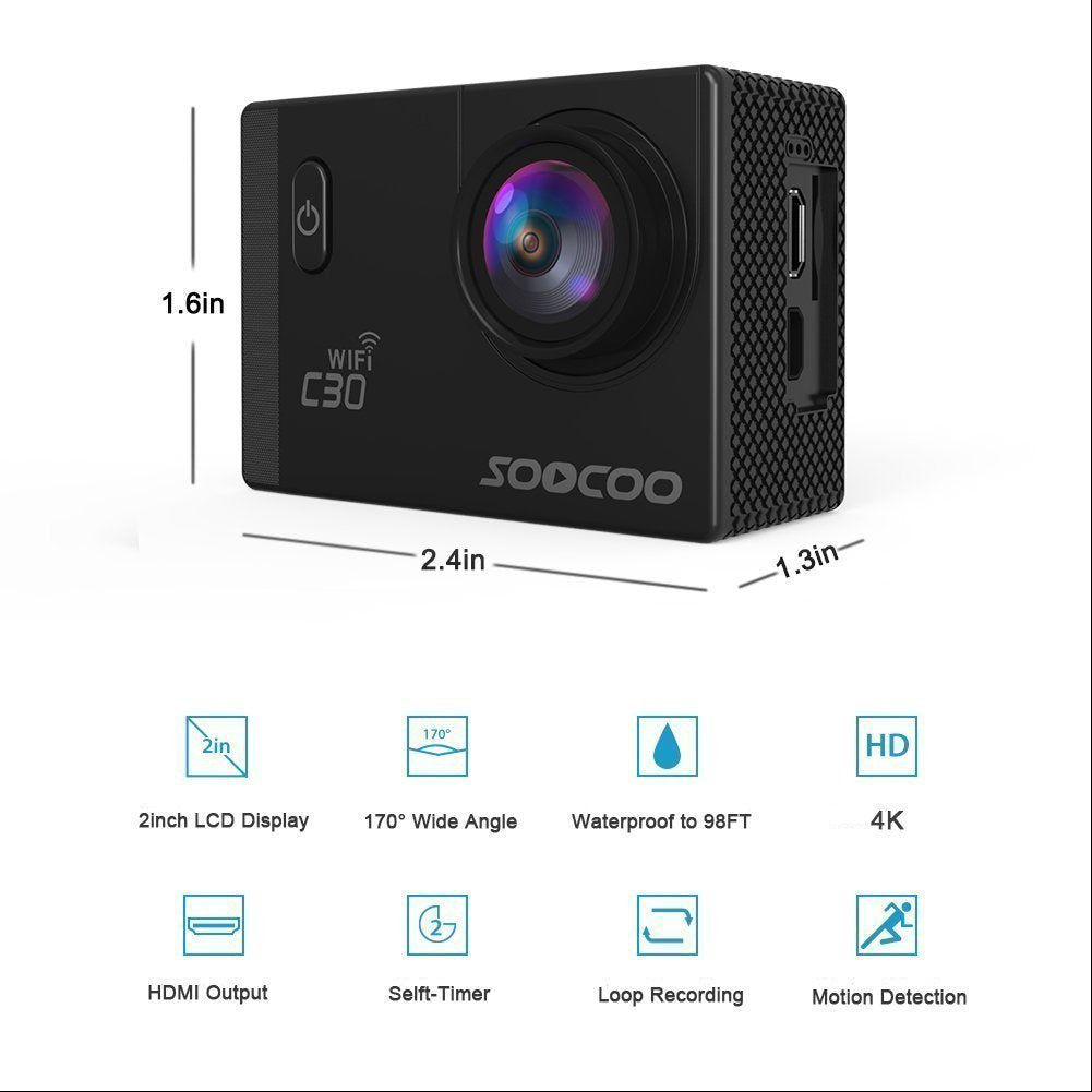OPTA SAC-003 Sports Action Camera with wifi