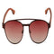 OPTA SG-014 Round  Polarized Ebony wood Sunglasses