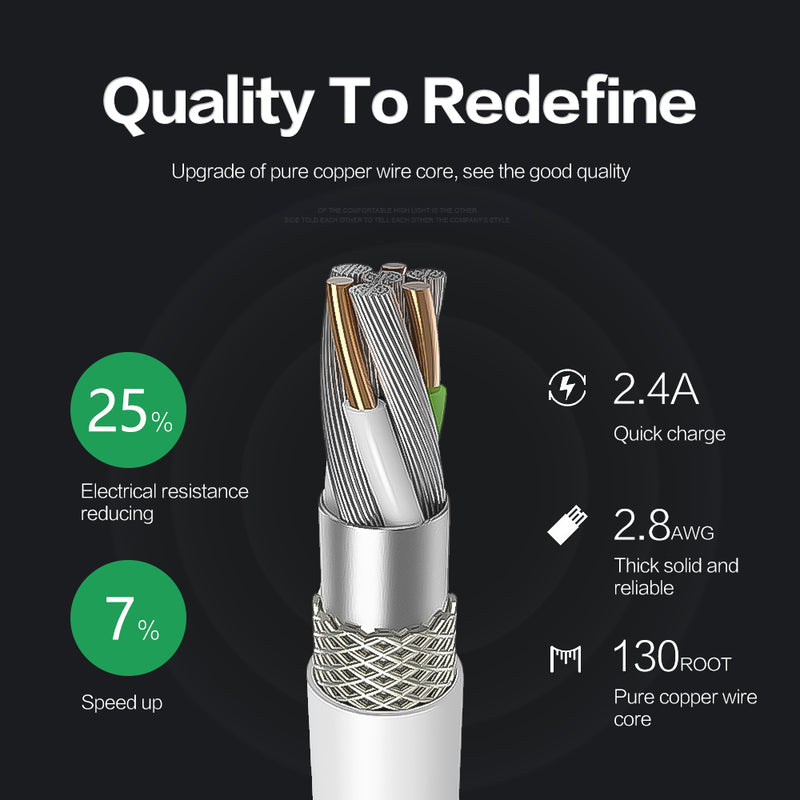 OPTA Lite Lightning to USB a Cable