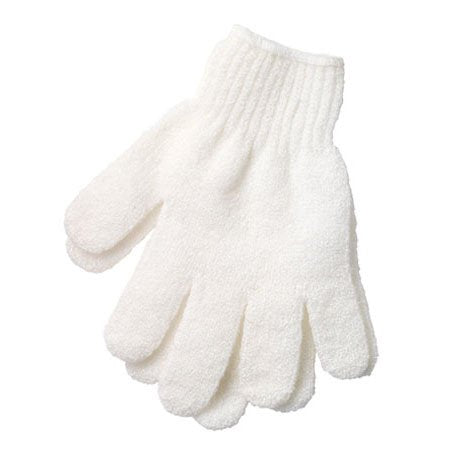MANTARA Shower Exfoliating Wash Skin Spa Foam Bath Gloves Massage Loofah Scrubber