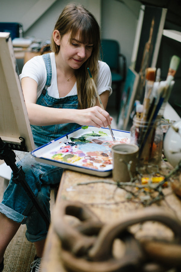 WF Folks: Studio Visit With Kristen Flemington