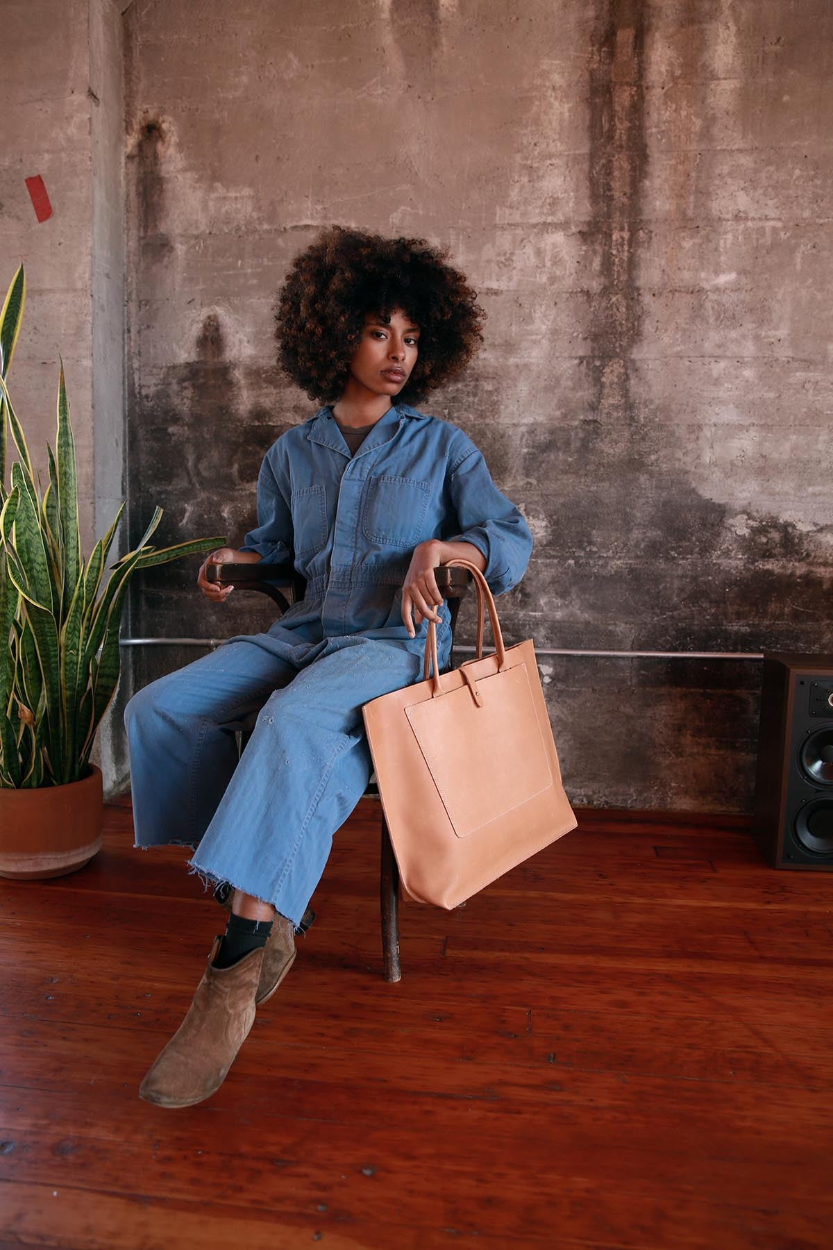 Large leather totes, Made in USA
