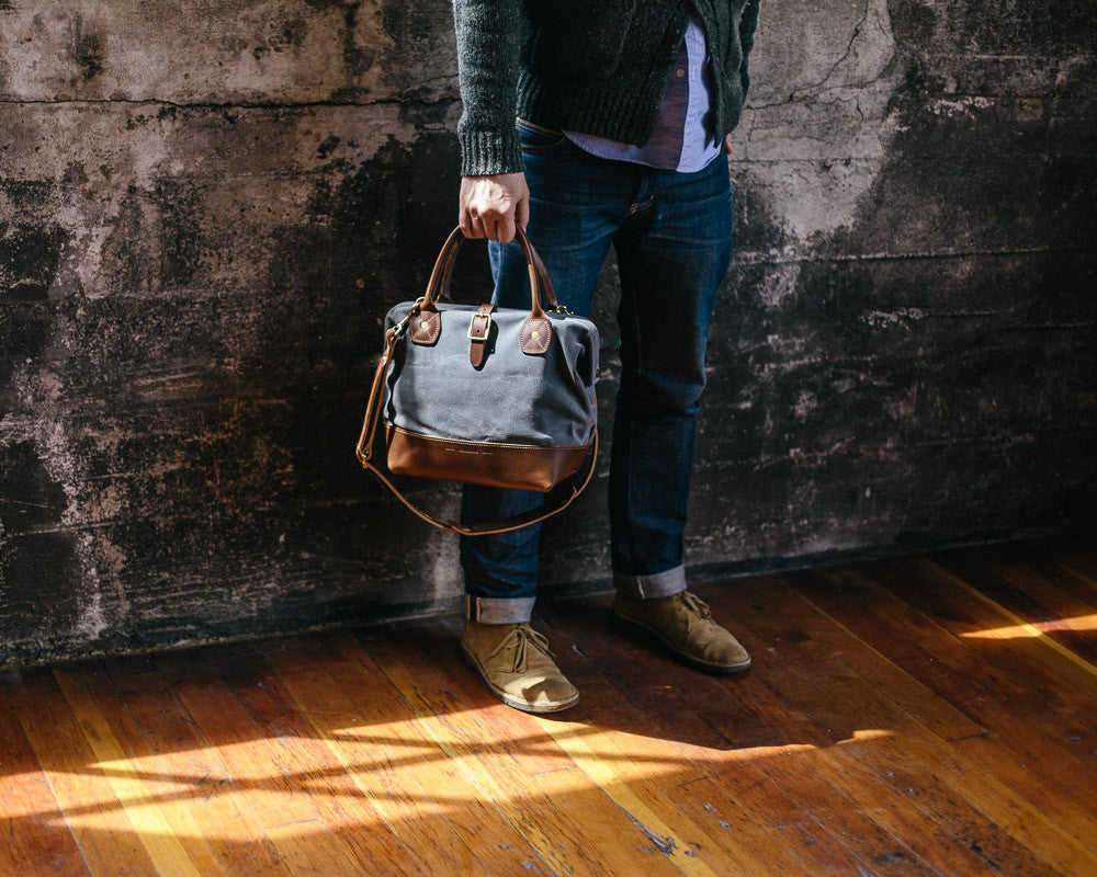 Wood and Faulk Sidecar bag