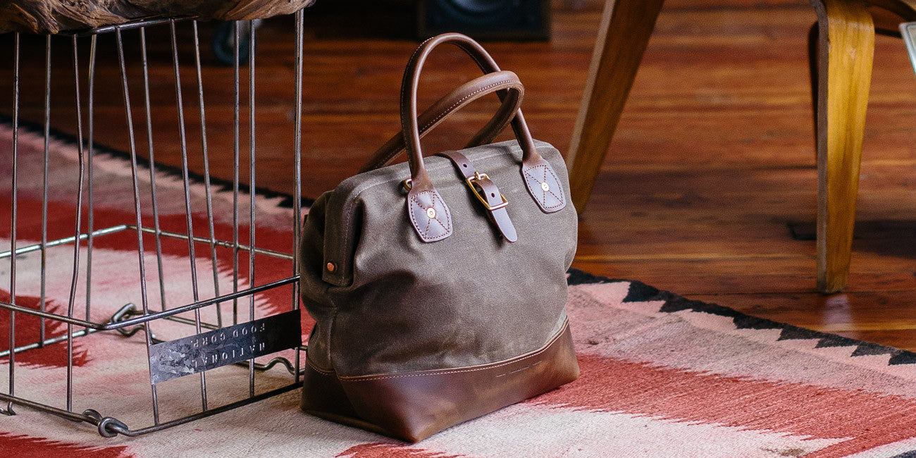 The Sidecar Everyday bag in Tan