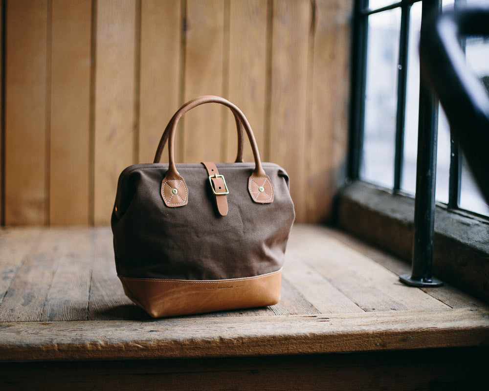 Canvas and Leather Bags, the Sidecar