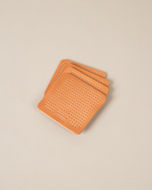 Coaster and Trivet, Russet