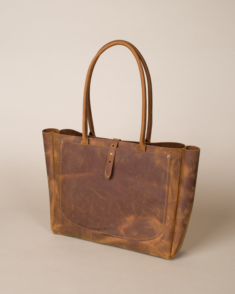 Marfa Tote, Harvest Brown