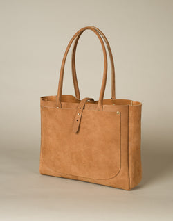 Marfa Tote, Roughout Tan