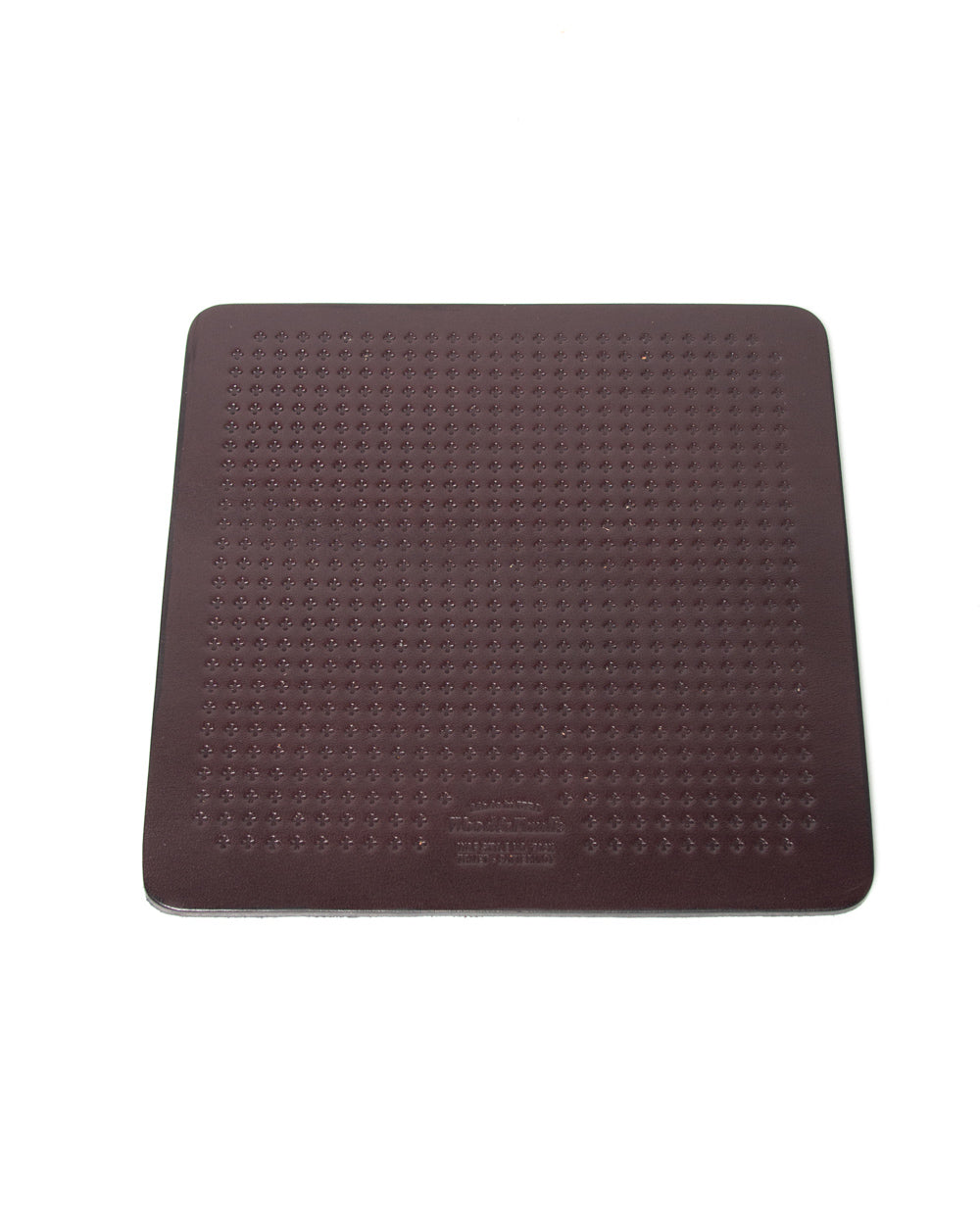 Coaster, Leather, Made USA, Handcrafted
