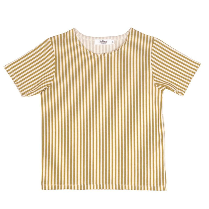 Camiseta Khaki&Raw stripes