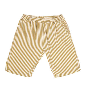 Pantalón corto Khaki&Raw stripes