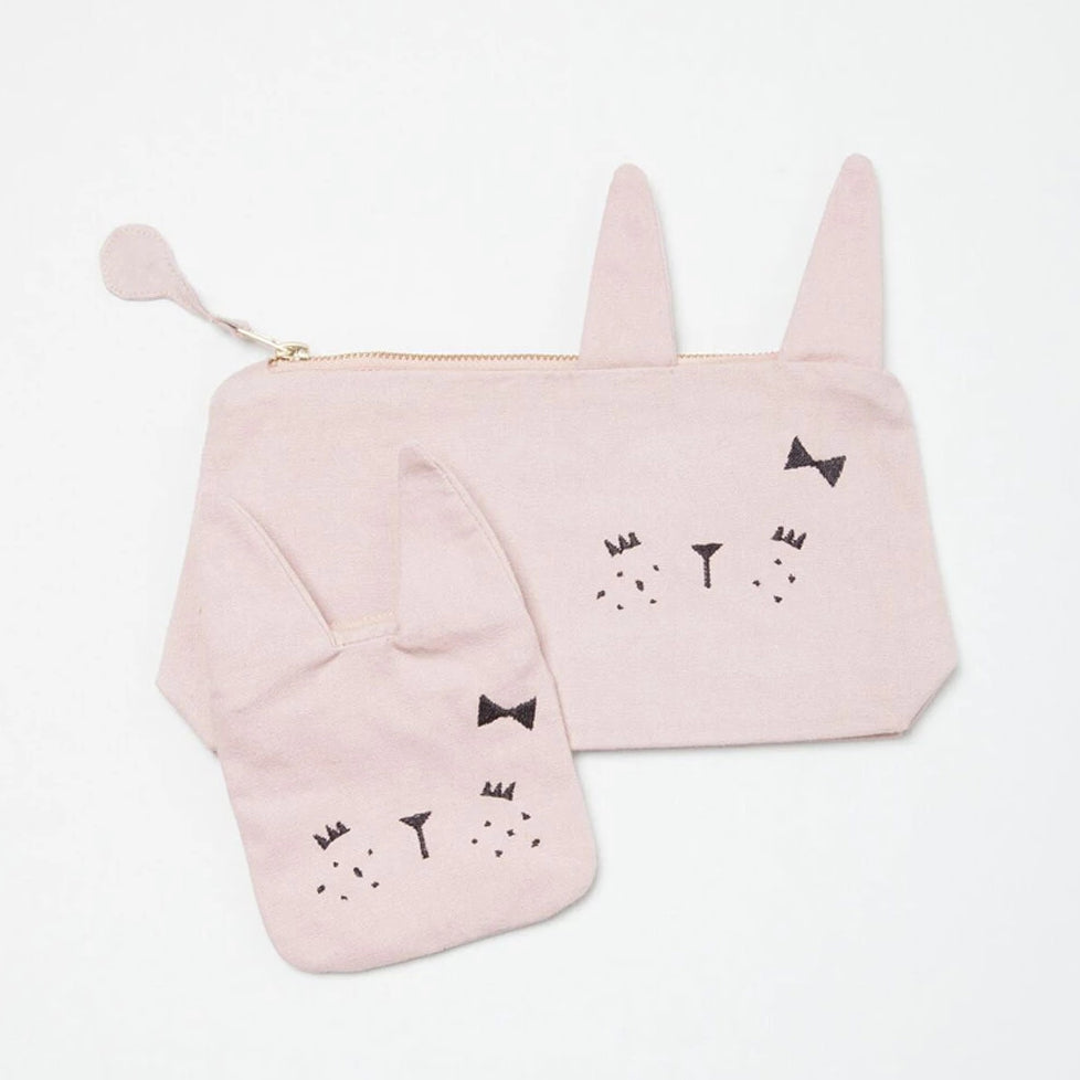 Monedero Animal Bunny Rosa