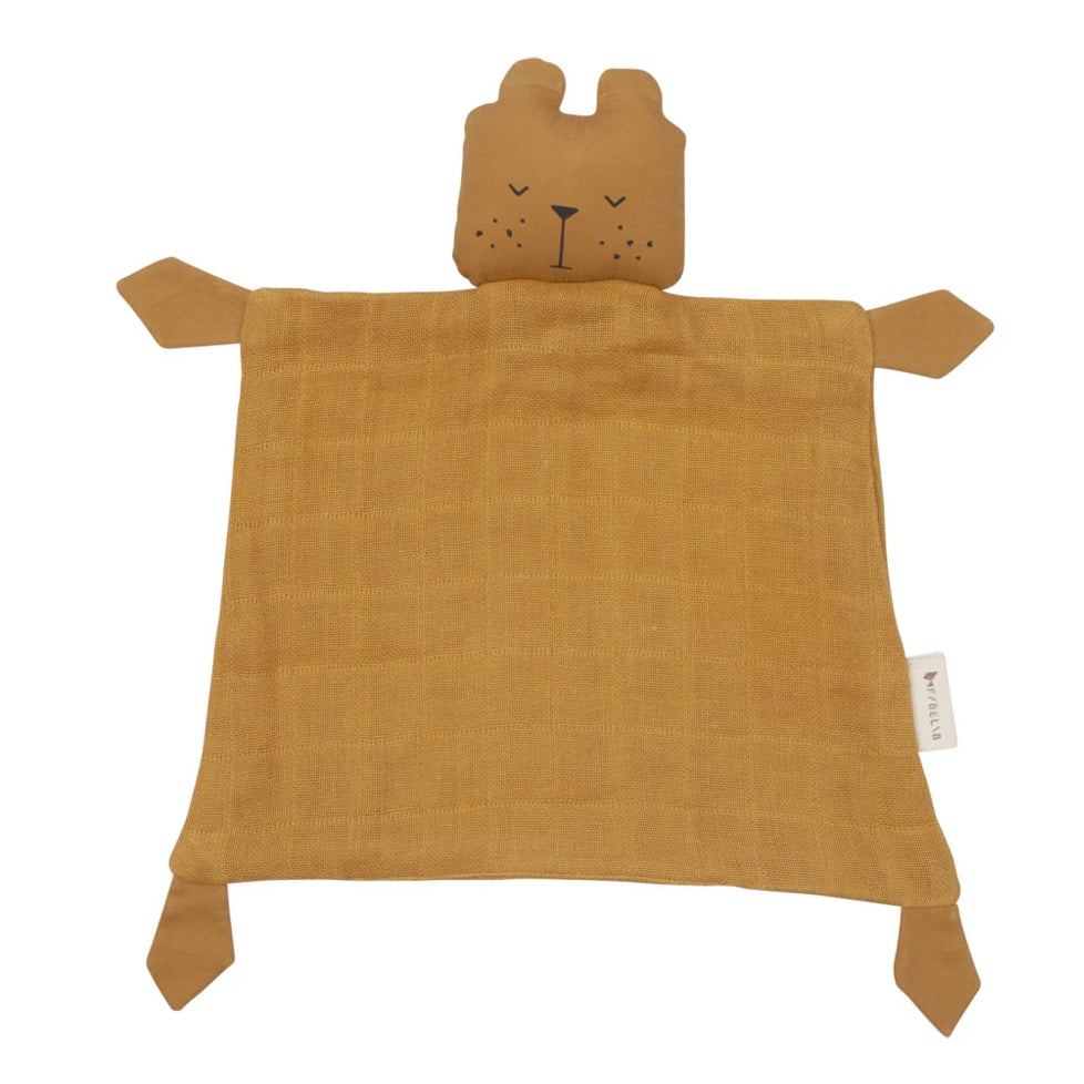 Doudou Animal Bear Mostaza