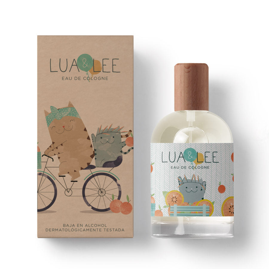 Colonia Lua & Lee 100 ml packaging compostable