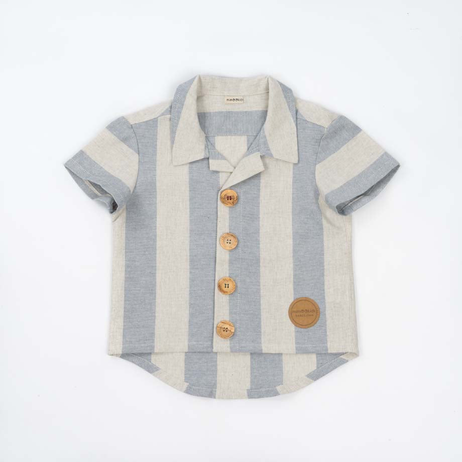 Camisa Blue Stripes