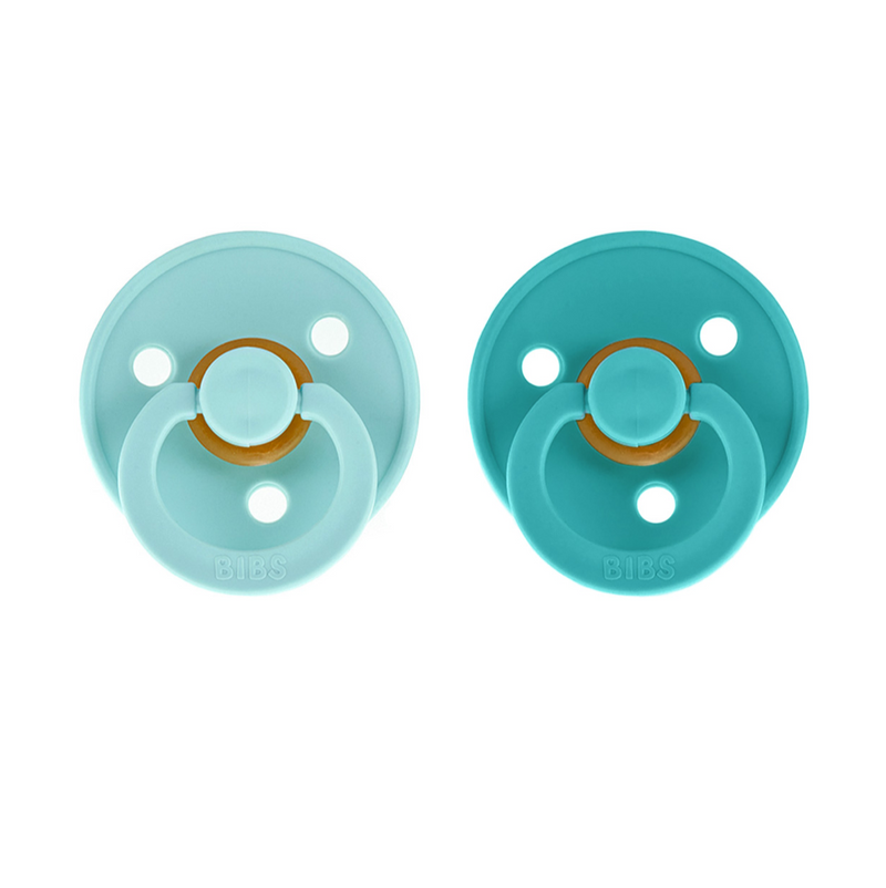 Chupetes BIBS Pack 2 Mint/Turquoise
