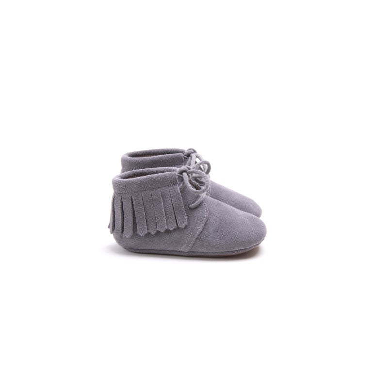 Zapatos Fringe Grey