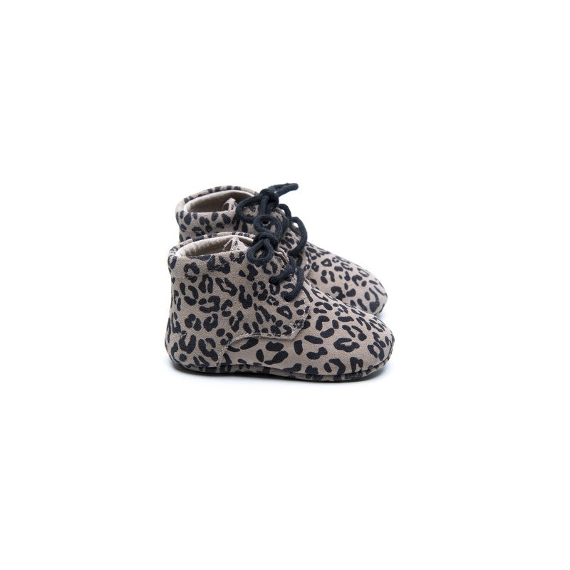 Zapatos Leopard Grey