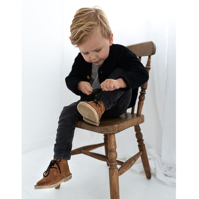 Botas Kid Brown