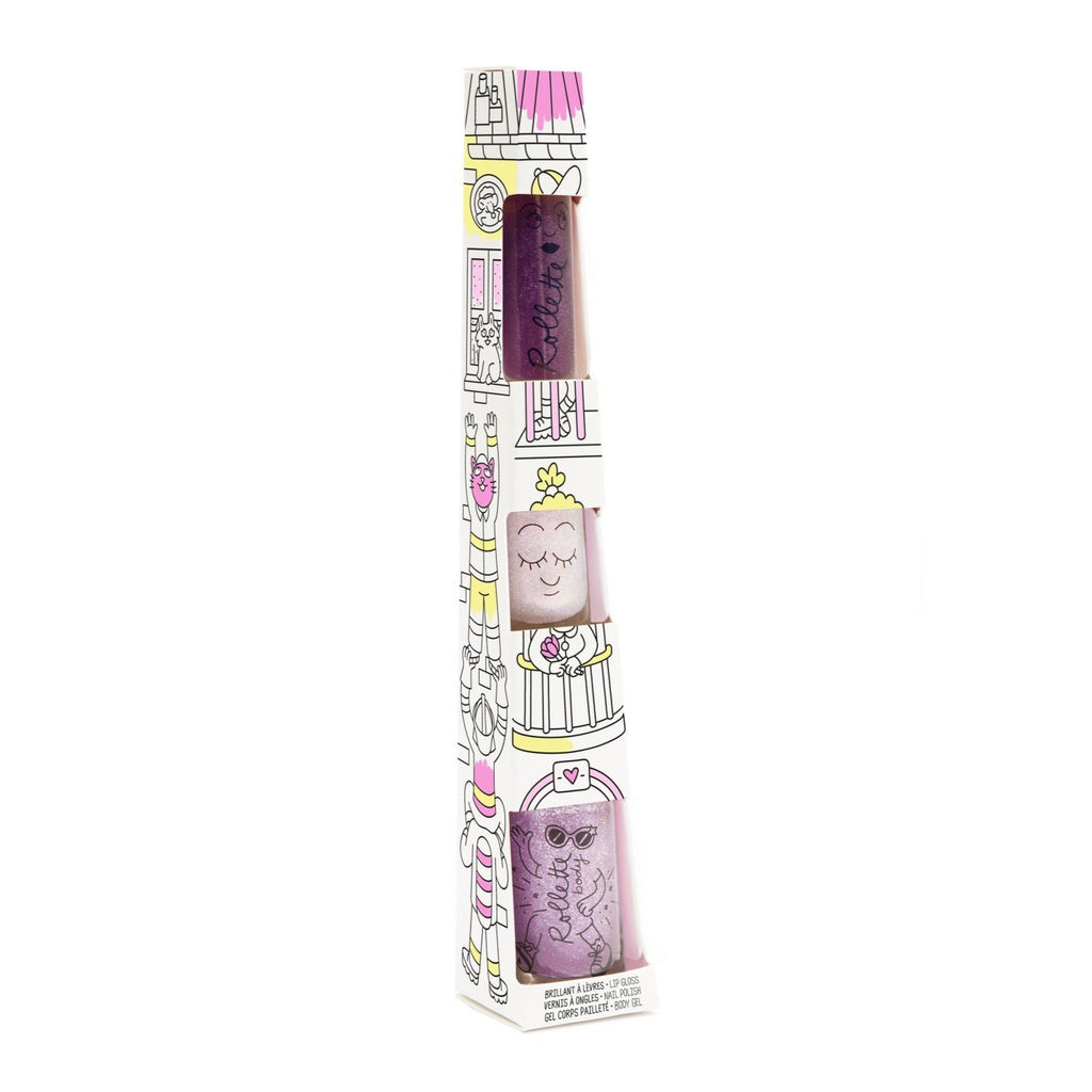 Totem gloss+pintauñas+body roll-on Cereza
