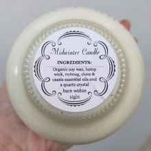 Load image into Gallery viewer, Midwinter Teacup Ritual Candle 8oz