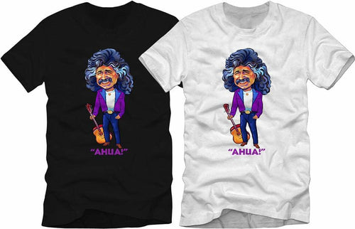 T-Shirt-Freddy Fender Characture-Ahua!