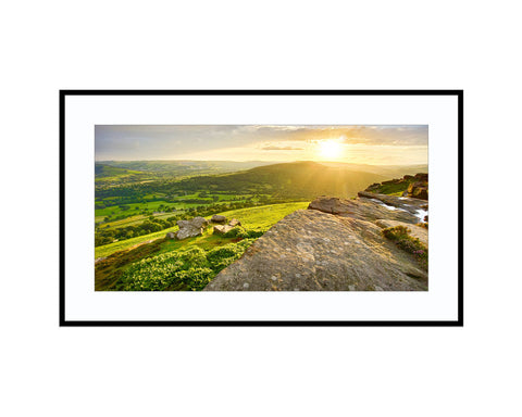 Bamford EdgePhotograph Print Landscape Photography Wall Art by Danscape