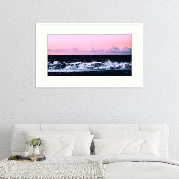 soft surge Abstract Landscape, Iceland, Iceland Print, Landscape Photography, Pan Canvas Print - Ready To Hang on Wall