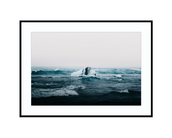 Blue MomentPhotograph Print Landscape Photography Wall Art by Danscape
