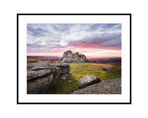 Haytor SunrisePhotograph Print Landscape Photography Wall Art by Danscape