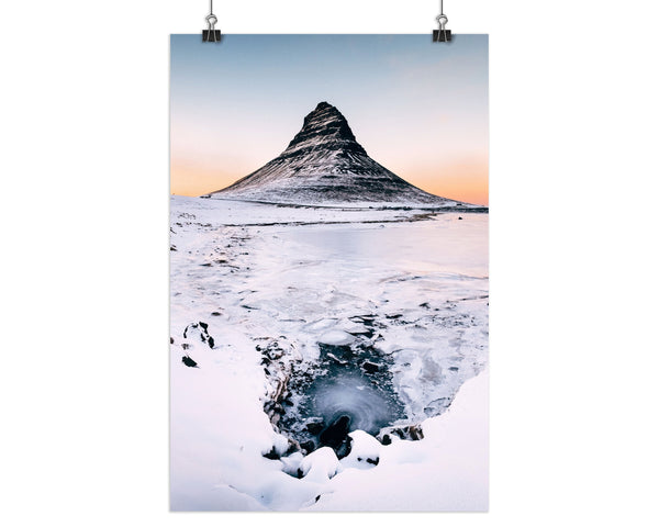 the frozen tower Buachaille Etive Mor Print, Glencoe Print, Highlands Print, Landscape  Print (Unframed)