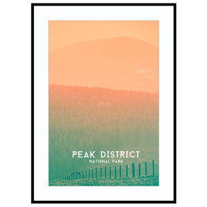 lose yourself peak district poster Hiking Gift, Lose Hill Print, Outdoors Gift, Peak District Poster, Pea Print (Unframed)