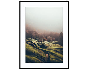 Relative TranquilityPhotograph Print Landscape Photography Wall Art by Danscape