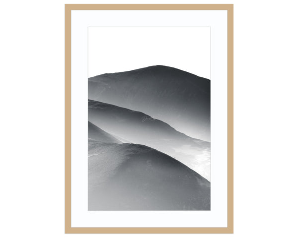 slices of heaven Best Sellers, Black and White Landscape Photography, Black and White P Print (Unframed)
