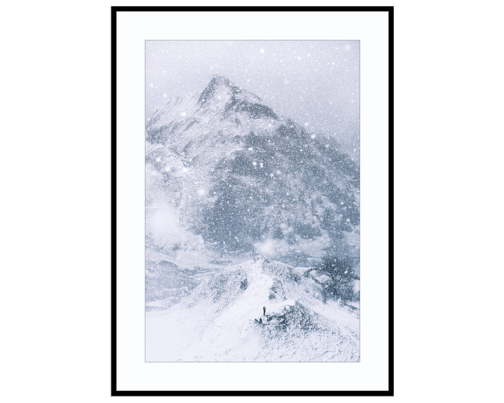 Snow GlobePhotograph Print Landscape Photography Wall Art by Danscape