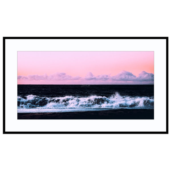 soft surge Abstract Landscape, Iceland, Iceland Print, Landscape Photography, Pan Print (Unframed)