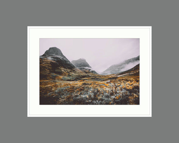 strong roots in glencoe Glencoe Print, Highlands Gift, Landscape Photo, Mountain Art, Outdoors Print (Unframed)